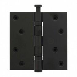 """Kogellagerscharnier recht 3.5"""" (89x89x2,5) zwart"""