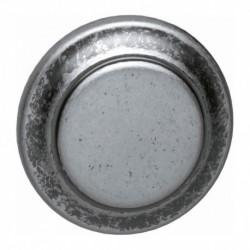 Knopkruk 50mm oud grijs