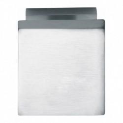 Voordeurknop vierkant 65/55mm chroom mat
