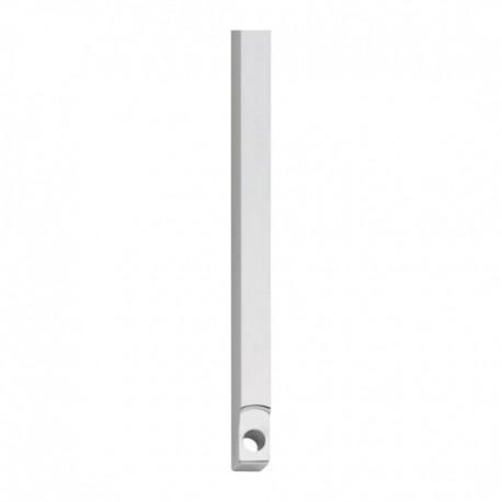 Stangenset tbv kruk-espagnolet lang 125cm chroom