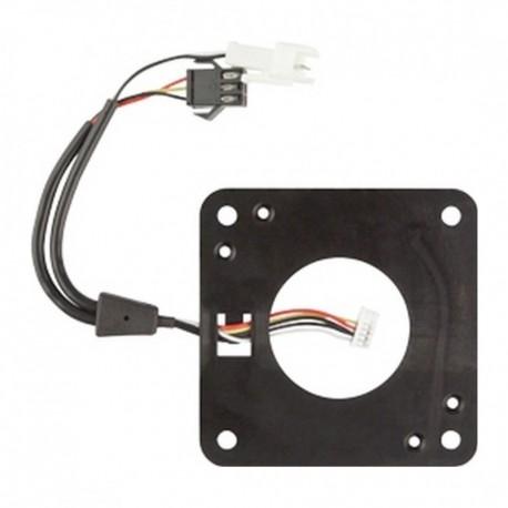 Chip Lock onderplaat 1,5mm met plug voor externe antenne en converter