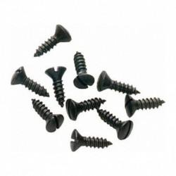 Schroef 4x16 tbv Metalfor zwart