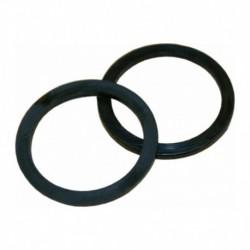 Nylon ring 18mm plat zwart