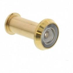 Deurspion 180° messing deurdikte 35-60mm, diam 14mm