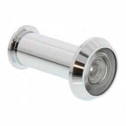 Deurspion 180° chroom deurdikte 35-60mm, diam 14mm